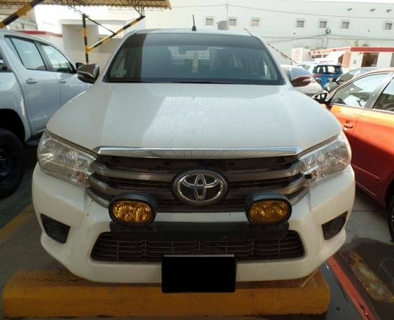 frontal hilux 2016