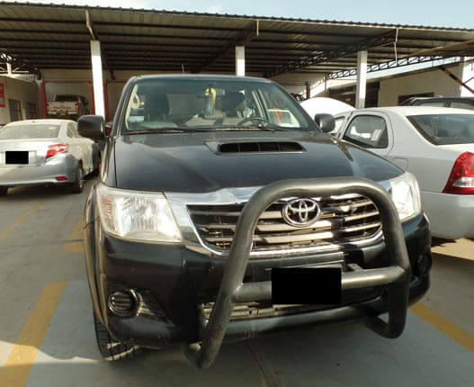 frontal hilux 2015