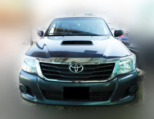 frontal hilux 2014