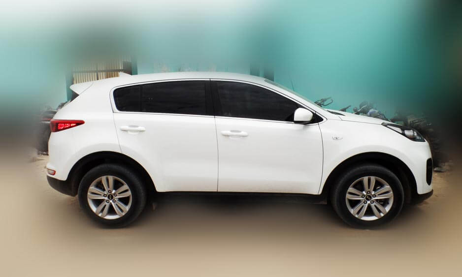 sportage 2018 lateral